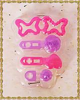Набор из 4 заколок для кукол Барби, фото 1