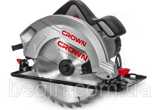 Пила ручная циркулярная CROWN CT15188-190, фото 2