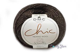 DMC WOOLLY Chic,  Горький шоколад №11