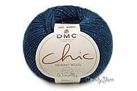 DMC WOOLLY Chic, Темно-синий №079