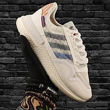 Кроссовки женские Adidas ZX 500 Commonwealth белые (Top replic)