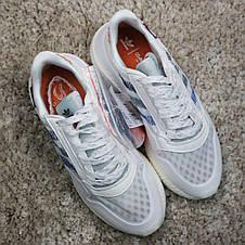 Кроссовки женские Adidas ZX 500 Commonwealth белые (Top replic), фото 2