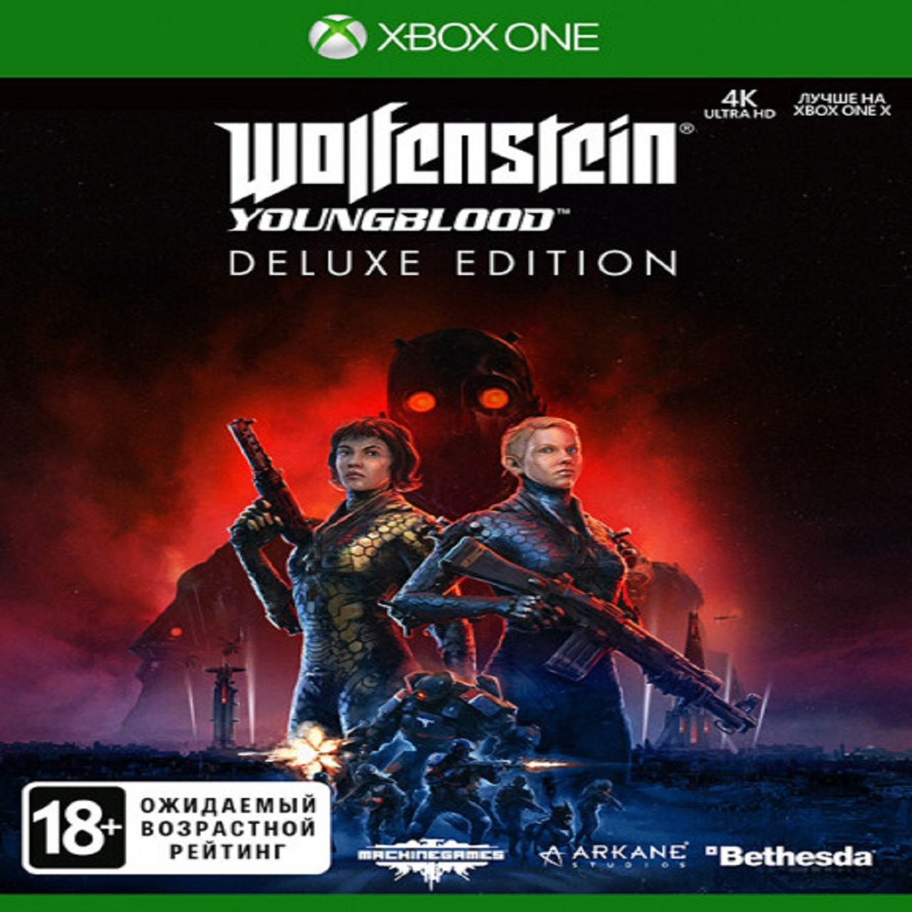 Wolfenstein: Youngblood Deluxe Edition RUS Xbox One (NEW)