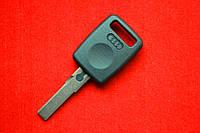 Ключ AUDI с местом под чип HU66 вид №1 Оригинал