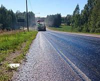 Битумная эмульсия для дорожных работ, асфальтирование территорий