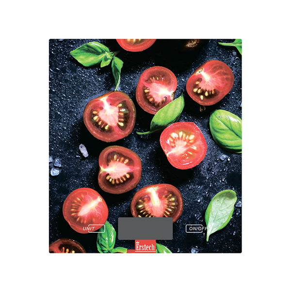 Весы кухонные ERSTECH ТKS/5182ER Tomato
