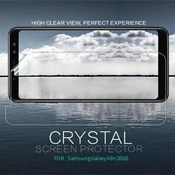 Защитная пленка для Samsung A730 Galaxy A8+ (2018), Nillkin Crystal