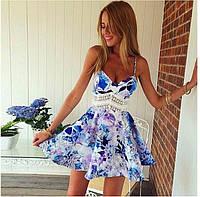 Шикарное, стильное платье, фото 1