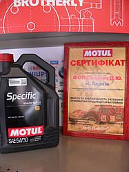 Моторное масло Motul specific 504 00 507 00  5W30 5L