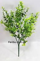 Буксус 30см искусственный куст ,цвет зеленый, фото 1