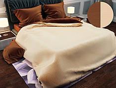 Двуспальный комплект постельного белья евро 200*220 хлопок  (12836) TM KRISPOL Украина