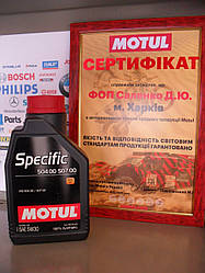 Моторное масло Motul specific  504 00 507 00  5W30 1л