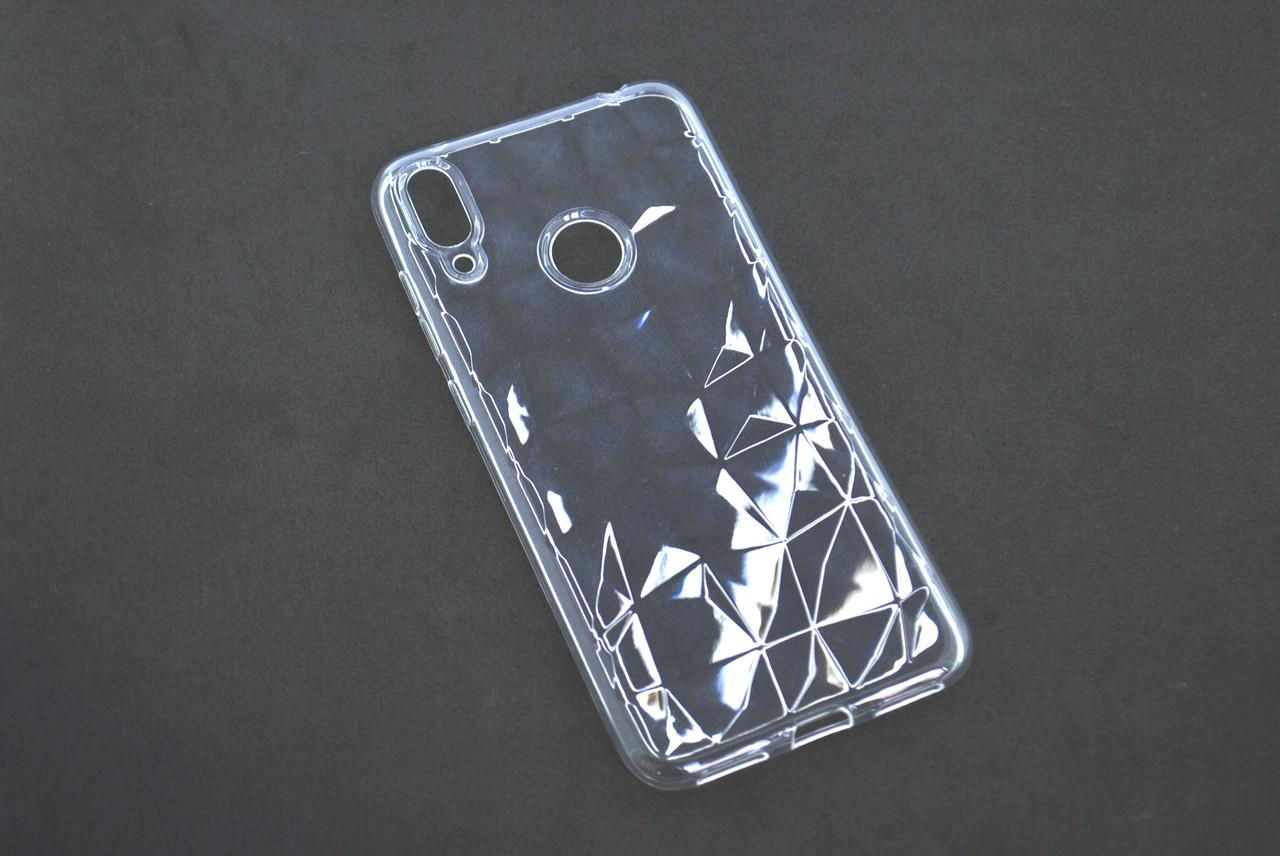 Чехол Samsung A40/A405 (2019) Silicone Prism Series прозрачный
