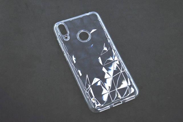 Чехол Samsung A40/A405 (2019) Silicone Prism Series прозрачный, фото 2