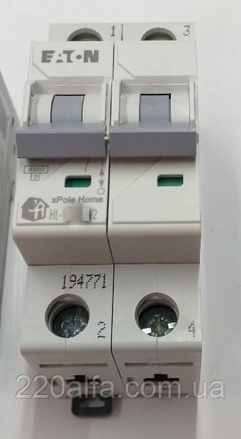 Автоматический выключатель Moeller Eaton HL-C 50/2