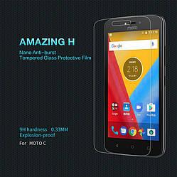 Защитное стекло для Motorola Moto C, Nillkin (H)