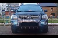 Дефлектор Капота Мухобойка Kia Sportage 2004-2009