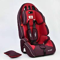 Автокресло универсальное G 4566 (2) Цвет красный 9-36 кг, с бустером, Joy