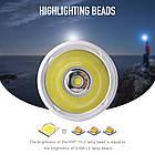 Мега мощный фонарь BORUiT XHP70.2 для подводного плавания 80м, фото 6