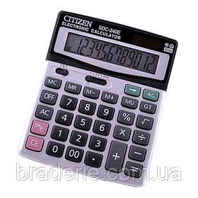 Калькулятор Citizen SDC-240 настольный с солнечной батареей