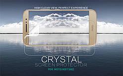 Защитная пленка для Motorola Moto M (XT1663), Nillkin Crystal