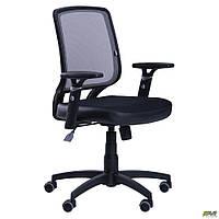 Кресло Онлайн сиденье Сетка черная/спинка Сетка серая Tilt TM AMF