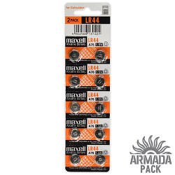Батарейки Maxell Alkaline LR 44 (10 шт)