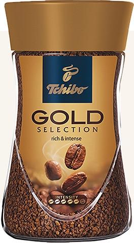 Кофе Чибо Голд растворимый 200 грамм в стеклянной банке