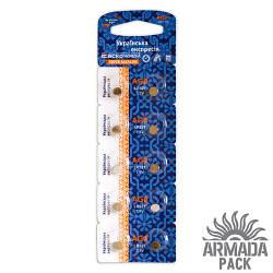 Батарейки Аско Укрем AG0 LR521 (10 шт)