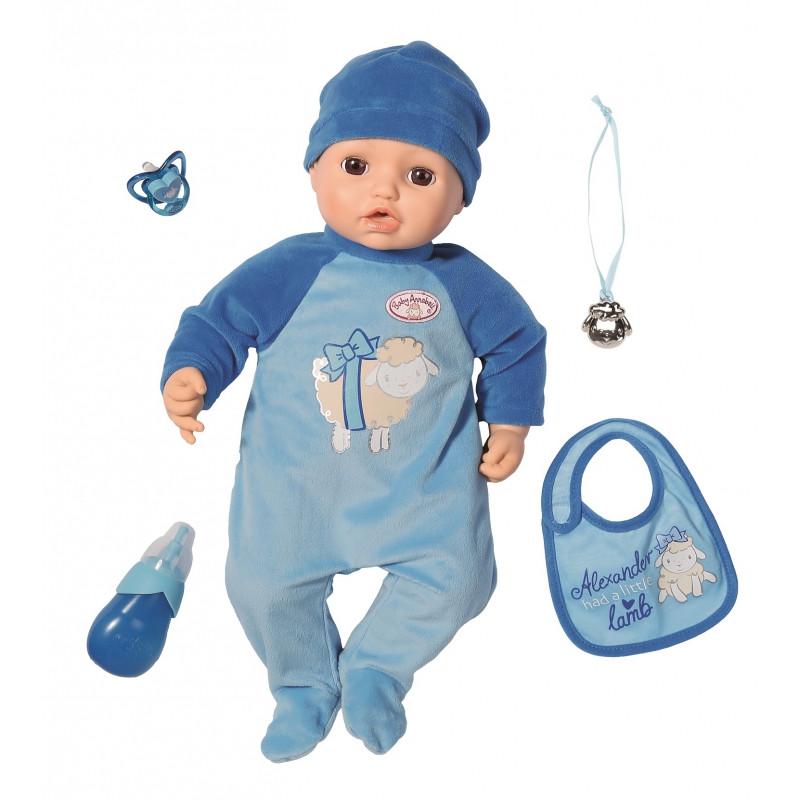 Кукла с мимикой Baby Annabell Alexander Zapf Creation 701898