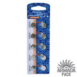 Батарейки Аско Укрем AG10 LR54 (10 шт)