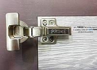 Меблева петля для ДСП вкладна з доводчиком CLIP-ON GIFF PRIME D=35 H=0 НІКЕЛЬ, фото 1