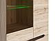 Шкаф-витрина Эльпасо REG_1W3D/20/9 дуб санремо, фото 5