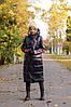 Пальто женское / плащевка, синтепон 200 / Украина 11-313