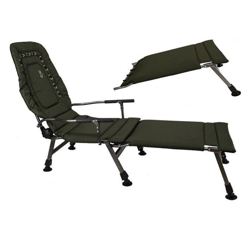Кресло карповое Elektrostatyk FK2+POD подставка для ног