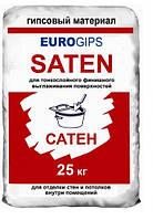 Шпаклевка чиcтовая «EUROGIPS Saten» 25 кг (Турция)
