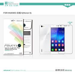Защитная пленка для Huawei Honor 6, Nillkin Crystal