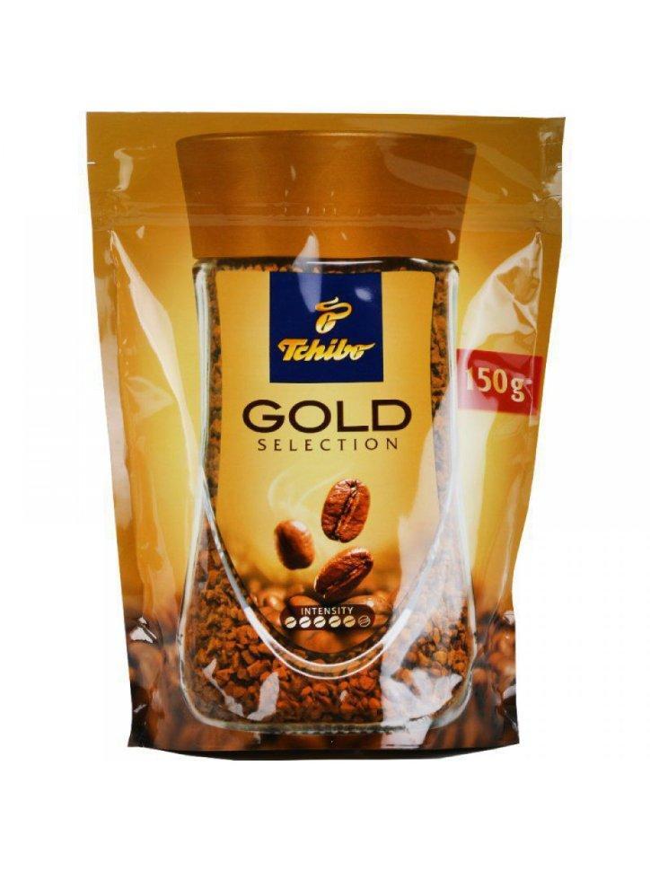 Кава розчинна Чібо Голд Селекшн 150 грам в м'якій упаковці