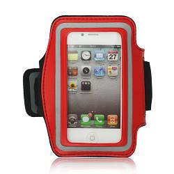 Чехол неопреновый спортивный на руку для Apple iPhone 4/4S