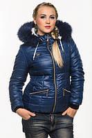 Женская зимняя короткая куртка., фото 1