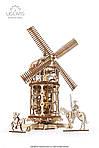Башня-Мельница | UGEARS | Механический 3D конструктор из дерева, фото 2