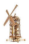 Башня-Мельница | UGEARS | Механический 3D конструктор из дерева, фото 5