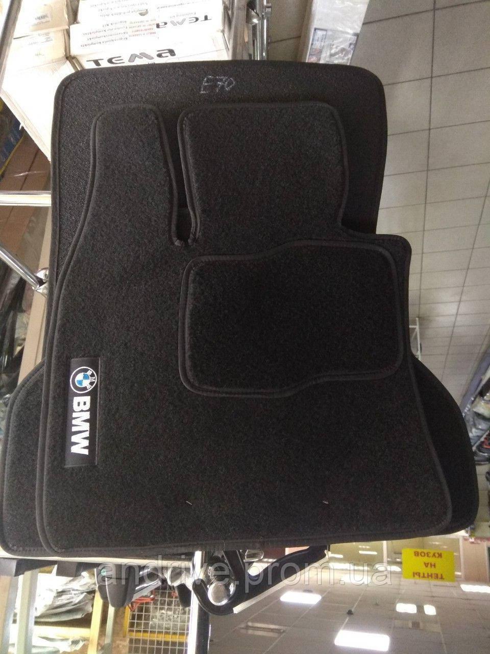 Текстильные ковры в салон BMW X5 (E70) 2007-> ворсовые