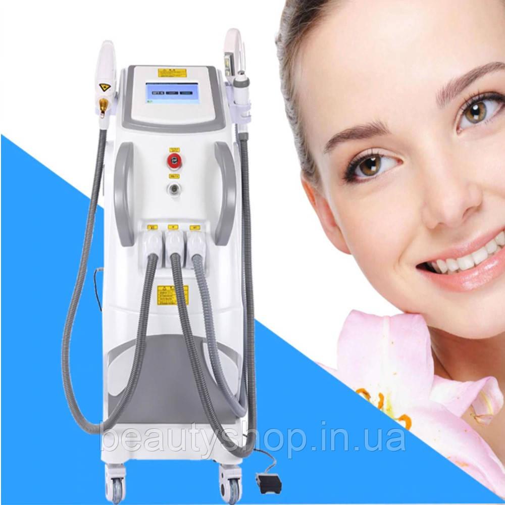 Косметологический аппарат Элос(Elos)+пикосекундный неодимовый лазер+RF+shr+ipl+nd yag