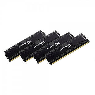 Оперативная память Kingston 32 GB 4x8GB DDR4 2933 MHz HyperX Predator (HX429C15PB3AK4/32)