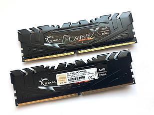 Оперативная память G.Skill FlareX for AMD Ryzen 16GB (2x8GB) 3200MHz DDR4 F4-3200C14D-16GFX (F00148673)