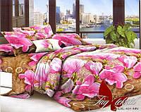 ✅ Двуспальный комплект постельного белья (Поликоттон) TAG LXL491
