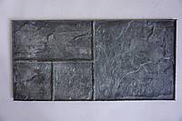"""Полиуретановый штамп для бетона """"Сланец №1"""" (на 4 камня) для пола и дорожек"""