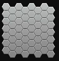 """Пластиковая форма для 3d панелей """"Стоун №2"""" 24*24 x4 (форма для 3д панелей из абс пластика)"""
