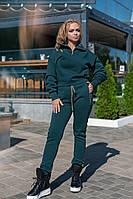 Женский утепленный спортивный костюм / трехнитка с начесом / Украина 40-02210, фото 1